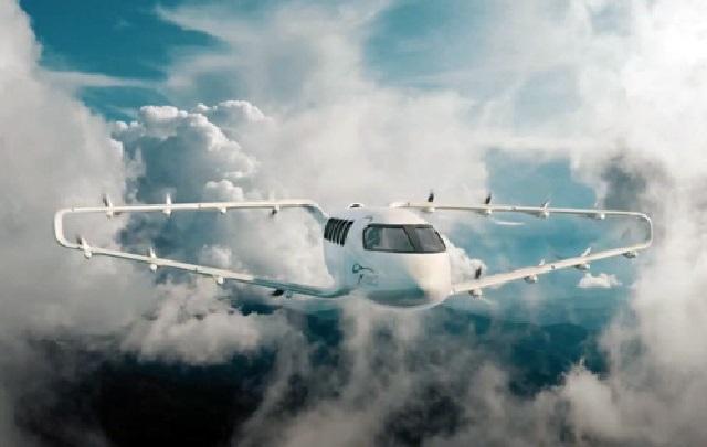 В США создали электрическое аэротакси с кольцевым крылом