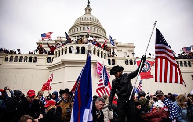 Среди участников штурма Капитолия был информатор