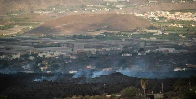 Ужасающие последствия извержения вулкана на Канарах показали с космоса