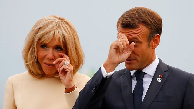 Президент Франции и его супруга подали жалобу на папарацци Тибо Далифара