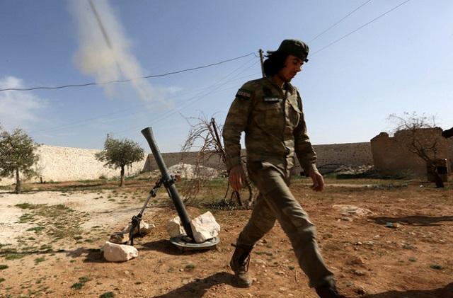 Боевики попытались прорвать линию соприкосновения с армией Сирии