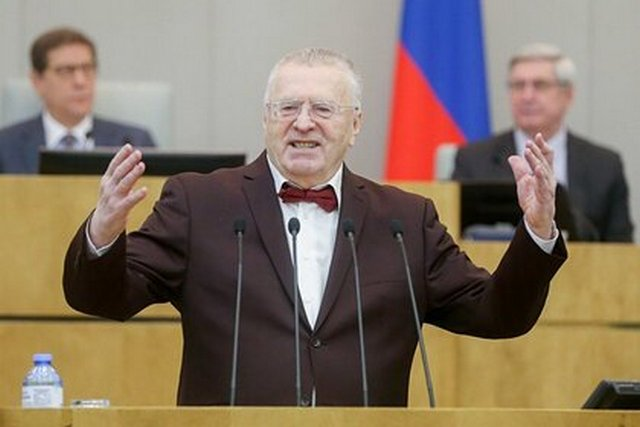 Путин оценил шутку Жириновского как «мрачноватую»