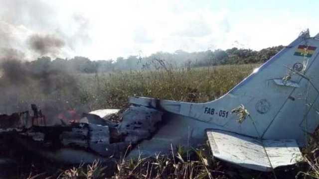 В Боливии разбился самолёт с чиновниками: есть погибшие