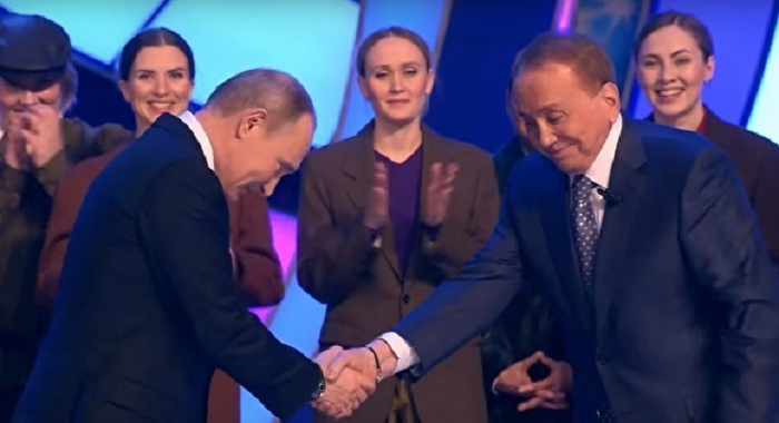 Путин наградил Александра Маслякова орденом «За заслуги перед Отечеством» I степени