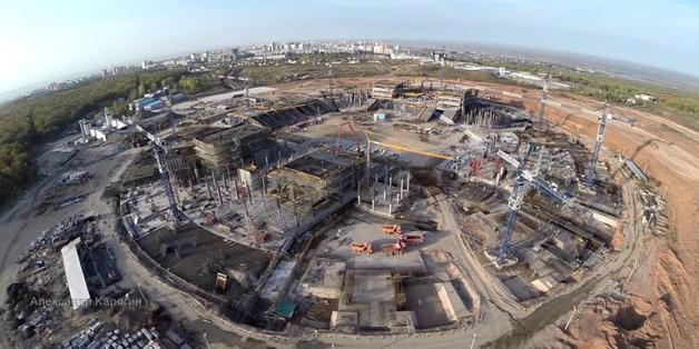 Генподрядчик стадиона к ЧМ-2018 обвинил стройкомпанию в хищении 2,5 млрд руб
