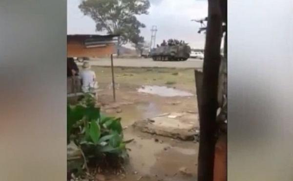 Армия Зимбабве стягивает к столице технику, президенту выдвинули требование