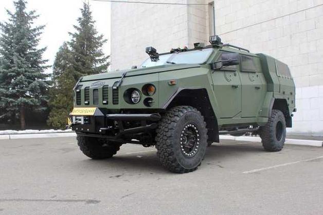 Для Нацгвардии разработали новый бронеавтомобиль «Варта-Новатор»