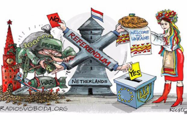 Тарас Чорновил: Наши политики в Нидерландах рассказывали, почему нужно проголосовать против Украины