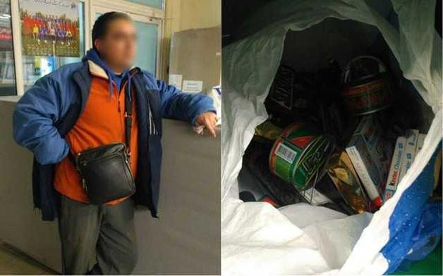Дніпровський депутат вкрав в супермаркеті ікру та шоколадки