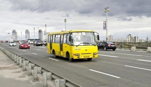 В столице заметили маршрутку без тормозов