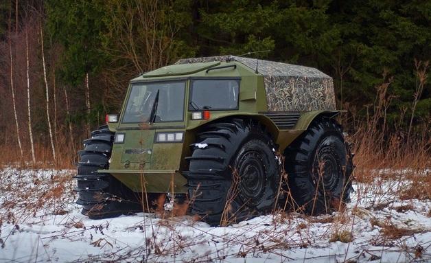 Украина купила российский вездеход за 3 млн гривен