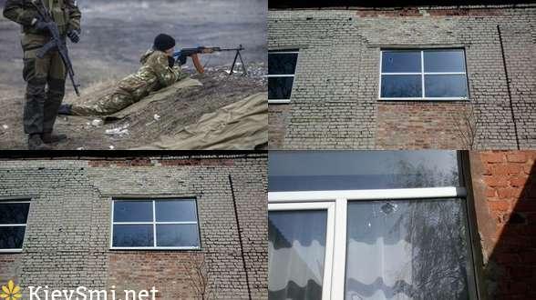 Боевики обстреляли школу в Авдеевке