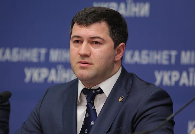 В Феофании проходит задержание Насирова