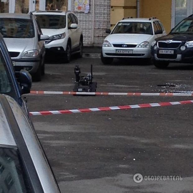 Взрыв в Киеве: преступники спланировали покушение на предпринимателя (+фото)