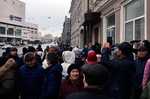 Шаймиев отказался встречаться с обманутыми вкладчиками Татфонданка