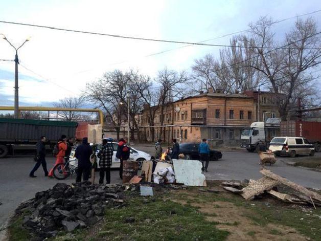 Две блокады — против украинцев