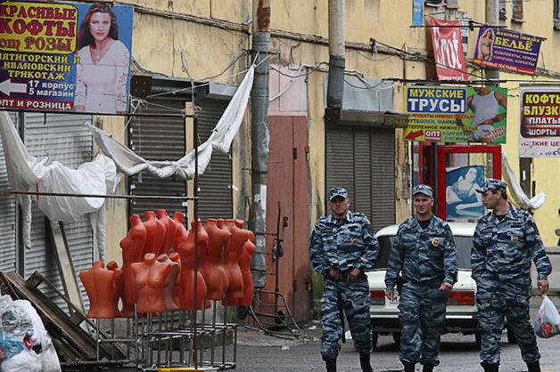 На питерском «Черкизоне» застрелили азербайджанского бизнесмена