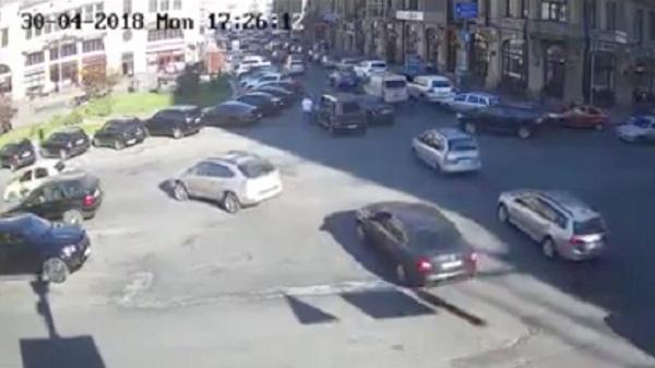 Появилось видео начала подготовки к нападению на нардепа Найема