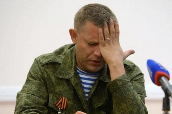 Главарь «ДНР» Захарченко заговорил об окончании войны в Донбассе