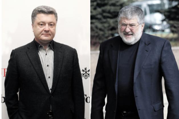 Порошенко хотел отнять у Коломойского «1+1», шантажируя его делом ГПУ против ПриватБанка — Лещенко