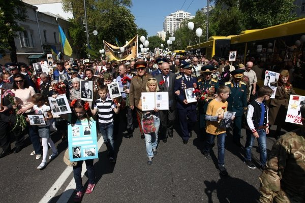 Акцию «Бессмертный полк» в Киеве будут охранять боевые офицеры и командиры