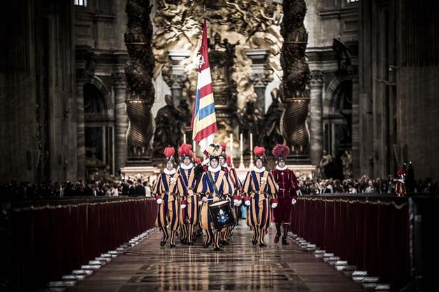 Тайная жизнь швейцарских гвардейцев Ватикана