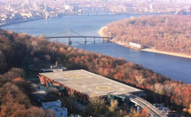 Вертолетную площадку Януковича продали, новый владелец из окружения БПП