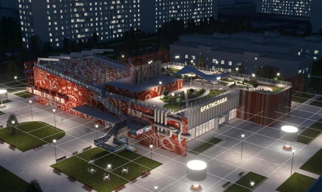 """Проектировать общественный центр в кинотеатре """"Братислава"""" будет частное предприятие с уставным капиталом в 100 гривен"""
