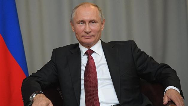 Путин за рулем КамАЗа прорвался в Крым