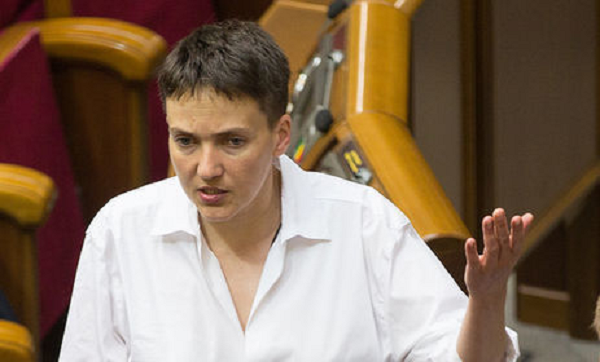 Савченко: «Расстрел власти и силовой переворот могут улучшить ситуацию в Украине»