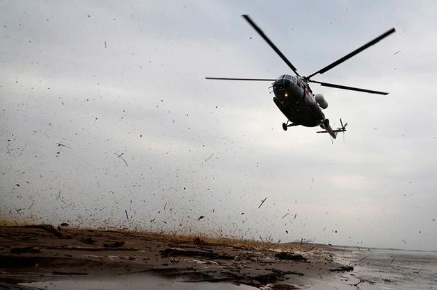 Под Ставрополем неизвестные закопали обломки Ми-2, чтобы скрыть факт крушения