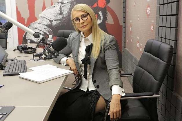«А, кстати, очень даже ничего» ! Соцсети обсуждают фото Тимошенко, оголившейся в прямом эфире