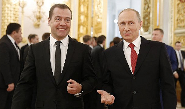 В России раскрыли секрет отношений Путина и Медведева