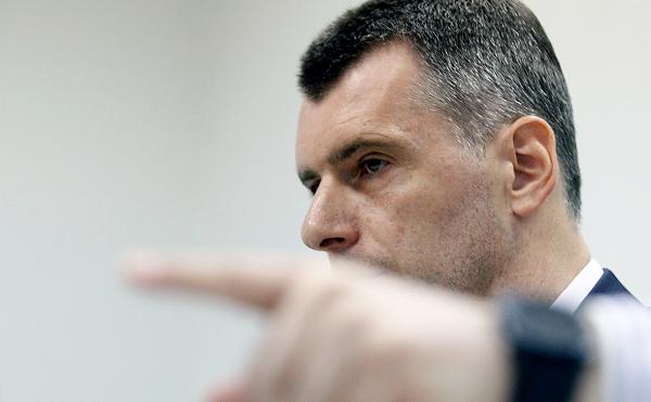 Михаил Прохоров ударил Алексея Навального рублем