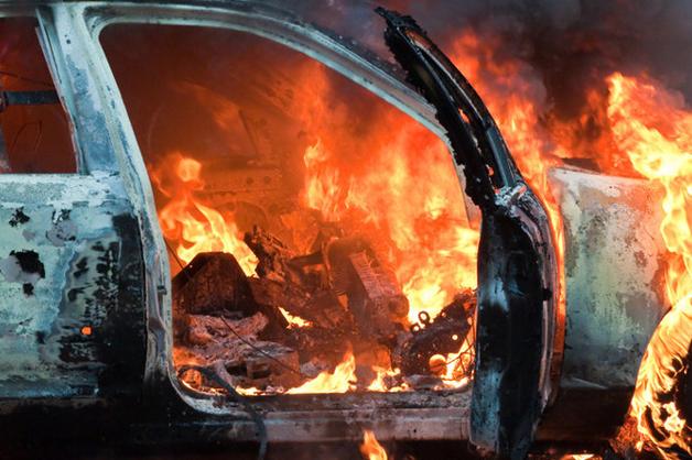 В Одессе сожгли машину начальника экоинспекции Северо-Западного региона Черного моря