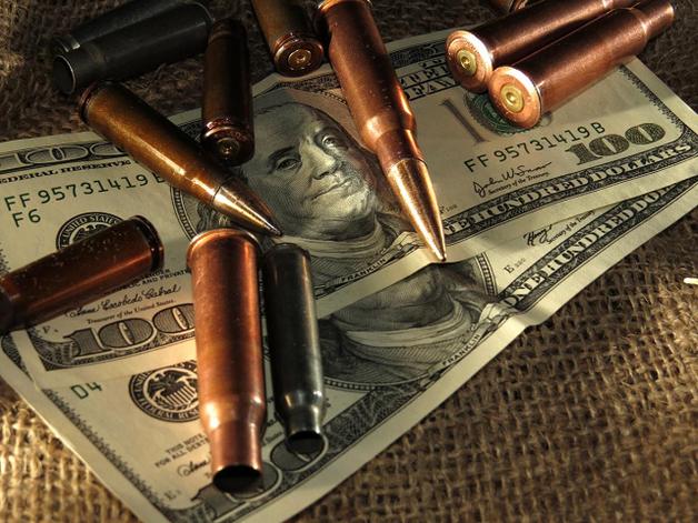 У Грузії активно торгують «українськими» патронами