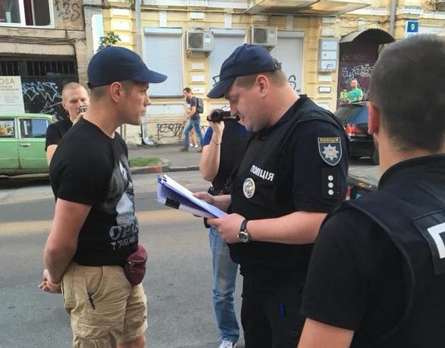 Главе «Нацкорпуса» Киева предъявили подозрение из-за конфликта на стройке на Осокорках