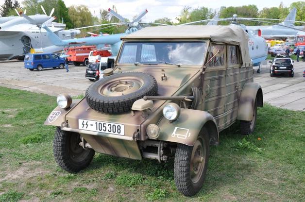Украинцы восстановили уникальное авто Третьего Рейха