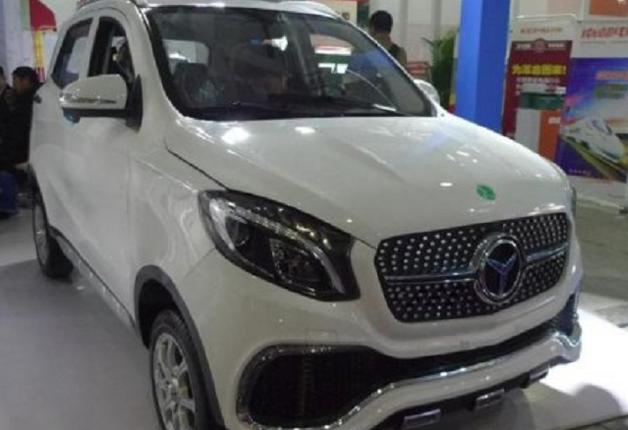 Китайцы выпустили поддельный «электромобиль Мерседес» за $3300
