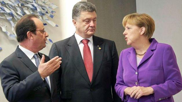 Порошенко, Меркель и Олланд призвали Путина немедленно освободить Савченко