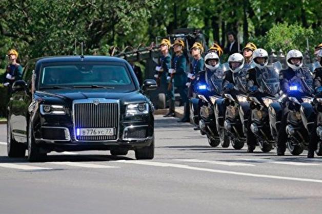 Назван срок поступления мотоцикла проекта «Кортеж» в гараж Путина