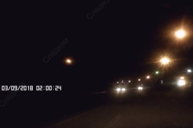 Опубликовано видео смертельного наезда автомобиля ДПС на велосипедиста в ХМАО