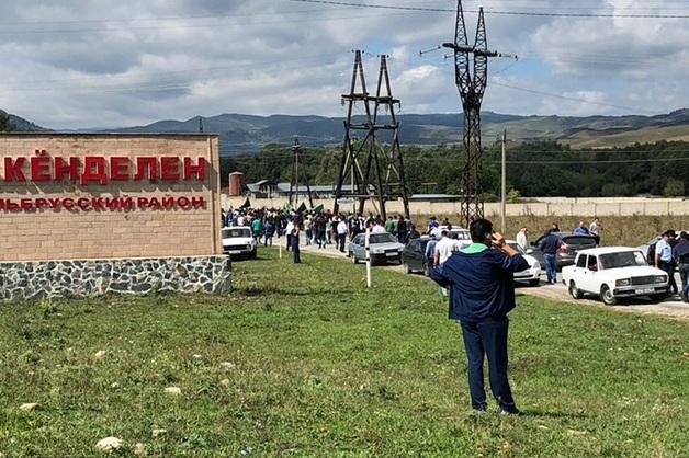 40 человек оказались под стражей после стычки между ОМОНом, кабардинцами и балкарцами