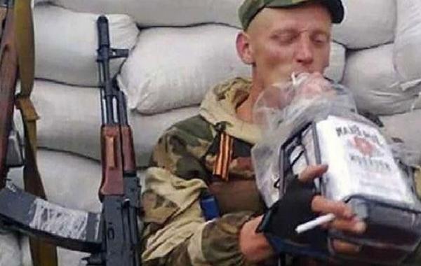 Пьяный террорист на машине заехал прямо в руки бойцов АТО