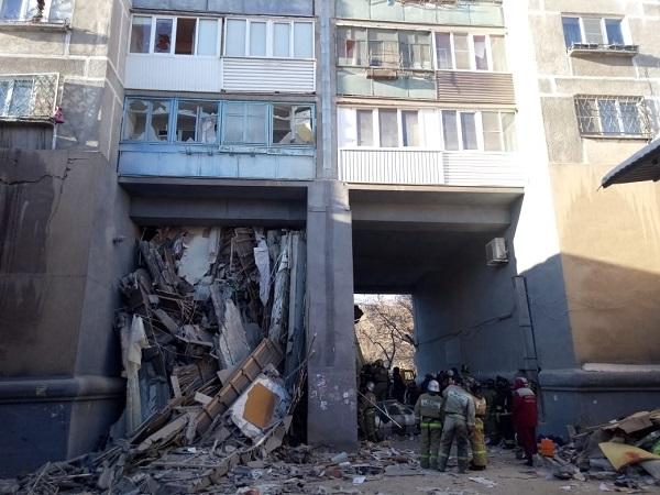 Пострадавший от взрыва в Магнитогорске дом разделят на два жилых здания