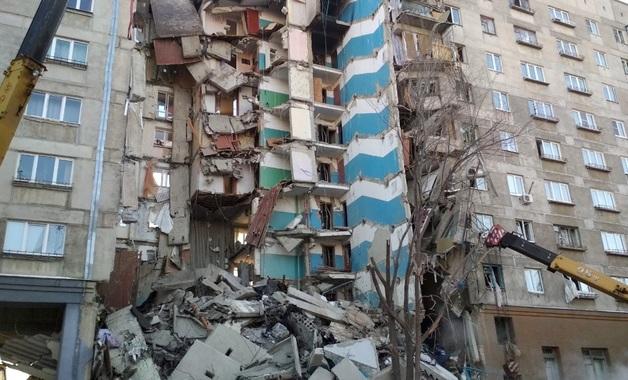 В Магнитогорске снесут два подъезда дома, в котором произошло обрушение