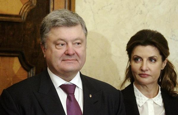 Грудь Марины Порошенко вызвала скандал в сети