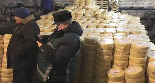 В Челябинской области уничтожат 20 тонн литовского сыра