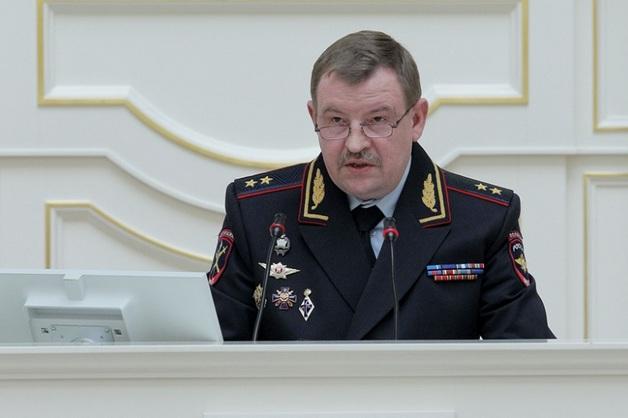 Начальник ГУ МВД по Петербургу и Ленобласти станет замом Колокольцева