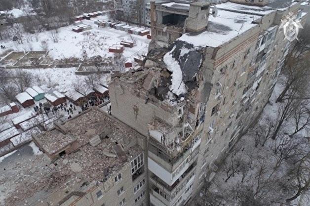В городе Шахты после взрыва газа эвакуировали жильцов соседнего дома